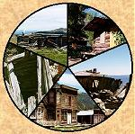 Colorado mining camps, ghost towns, boomtowns, mines